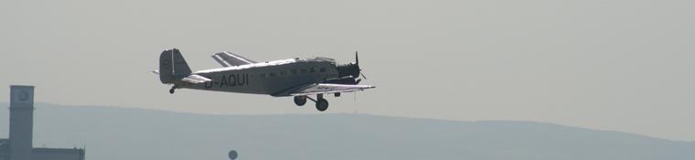 Ju 52 with JoHo aboard